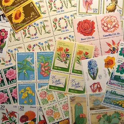 Flower postage pack