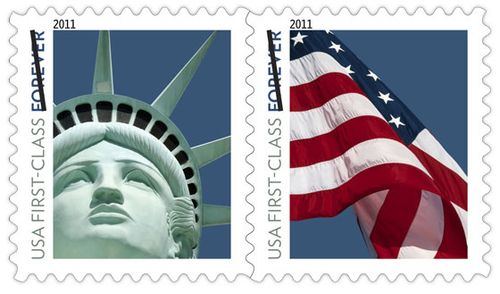 letter writers alliance: new forever stamps
