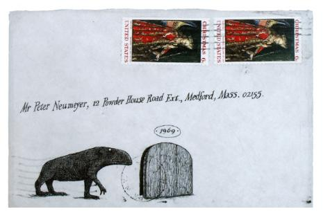 Edward gorey envelope