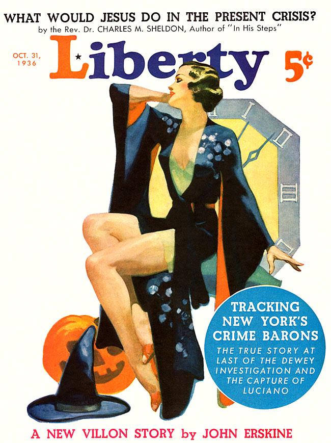 liberty 1936 10 31 - Halloween Magazines