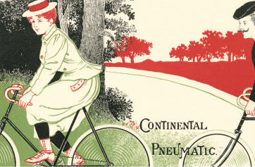 Victorian-drawing-of-woman-on-bicycle