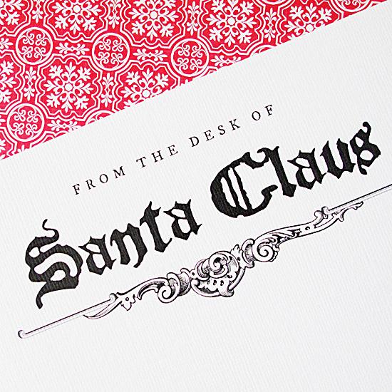 letter writers alliance santa s stationery