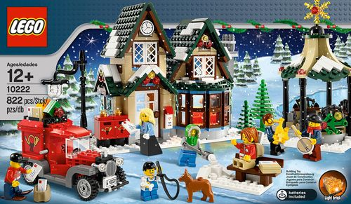Lego winter post office