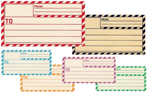 letter labels