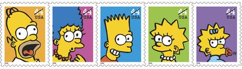 Simpsonsstamps