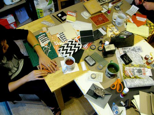 Mail art party 1