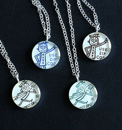 Mr zip necklaces