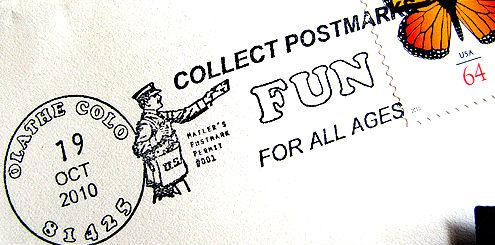 Olathe postmark