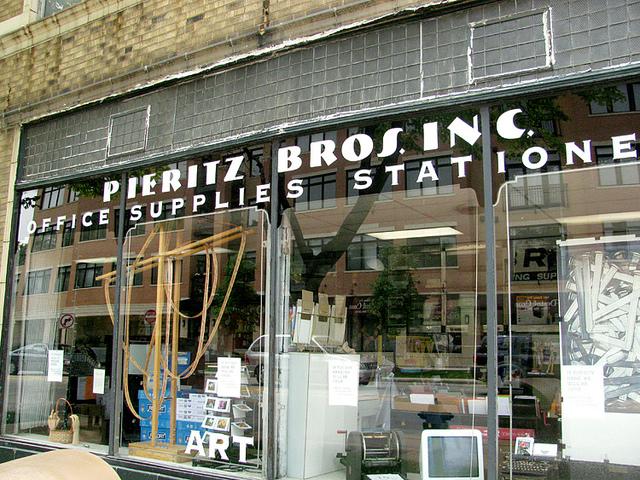 Pieritz outside