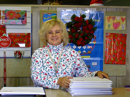 Holiday postmaster