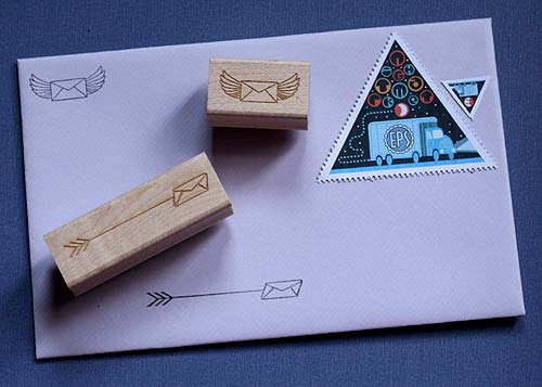 Envelope stamps 1