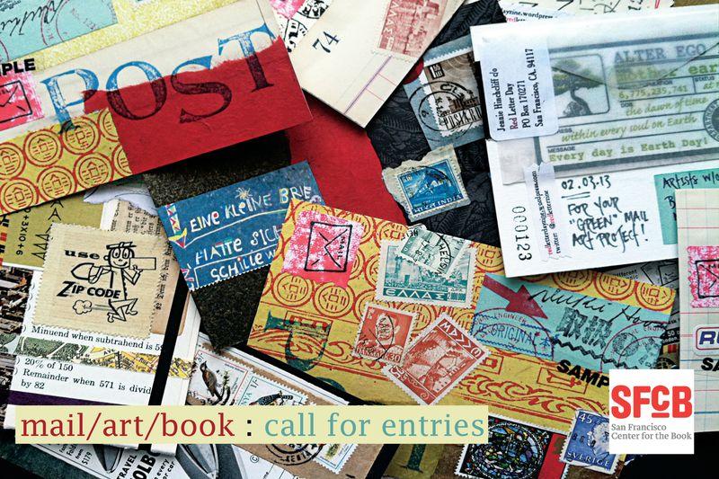 Ex postal facto mail art card