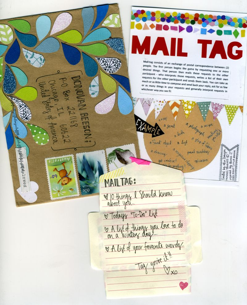 Mail tag