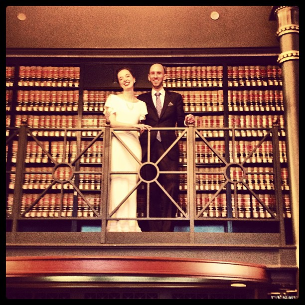 Behind The Curtain Love In A Library