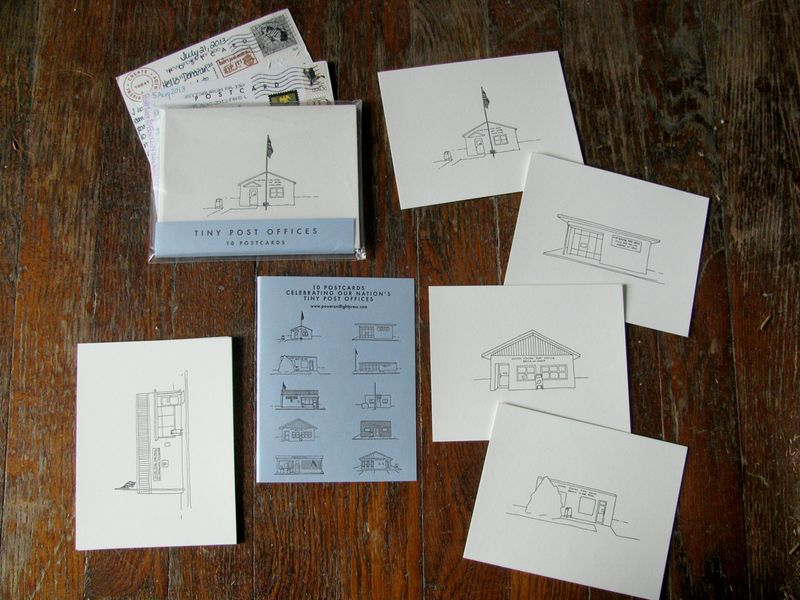 Tiny postoffice postcards 01
