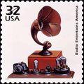 Radio stamp
