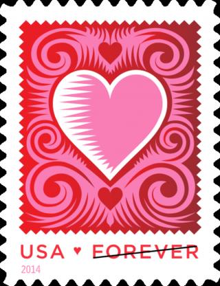 2014 love stamp