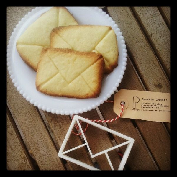 Letter Writers Alliance: Envelope Cookie Cutter