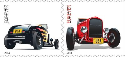 Hotrod stamps