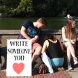 Write someone you love