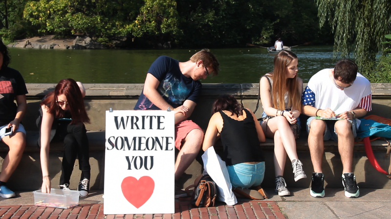 Write someone you love