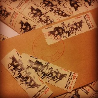 Year of the horse stamp