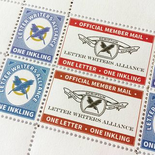 letter writers alliance artistamps