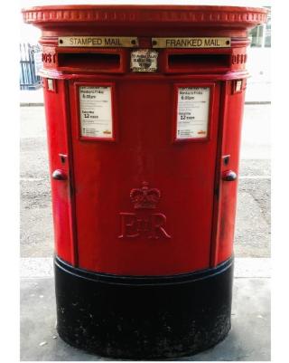 England post box