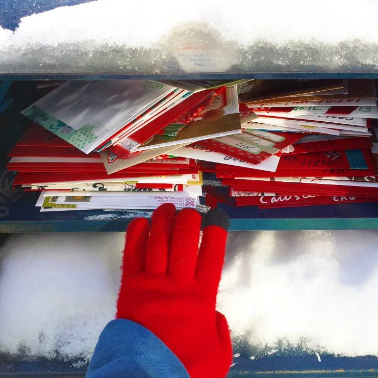 Christmas mail 2160