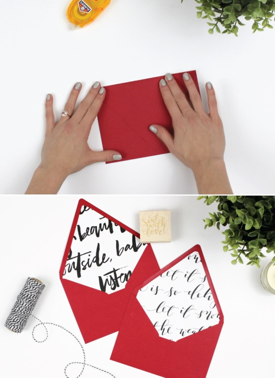 Wrapping paper liners