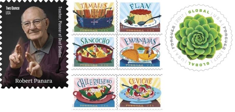 April 2017 stamps
