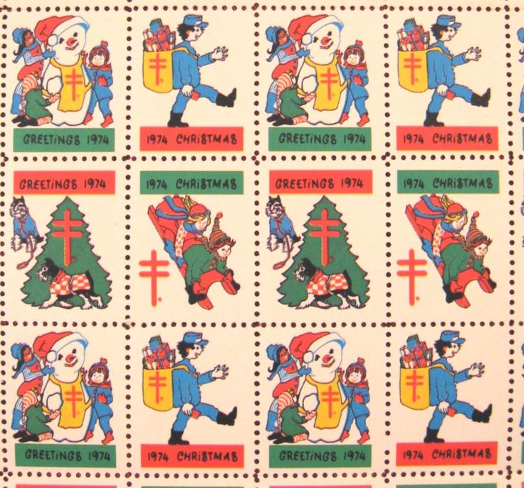 Letter writers alliance postal projects christmas seals m4hsunfo