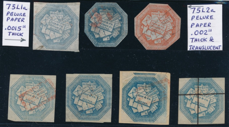 Hale and co stamps