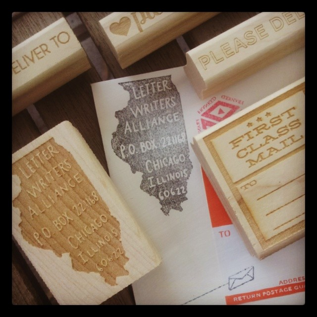 Paper pastries state stamps
