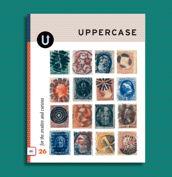 Uppercase mag stamps issue