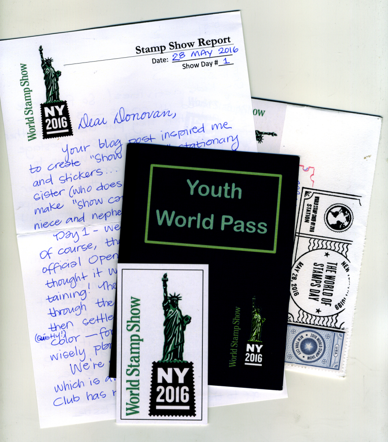 World-Stamp-Show-Letter