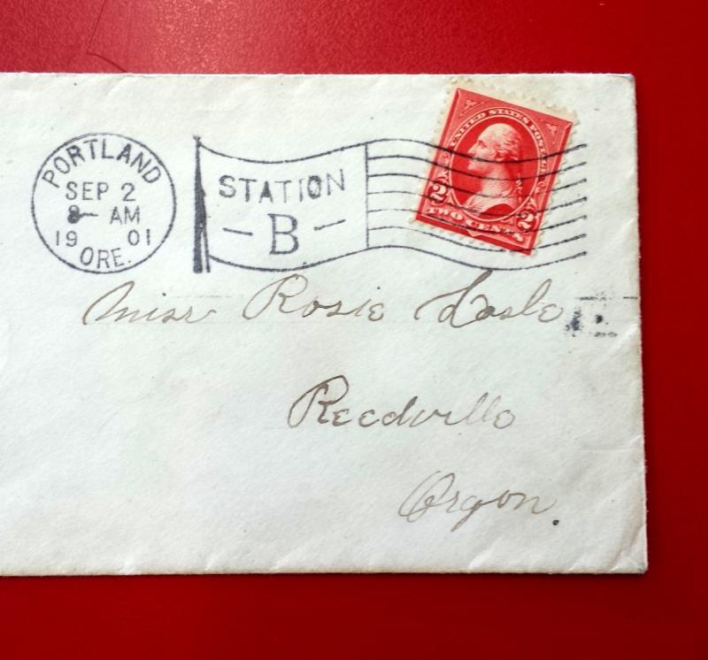 Flag postmark