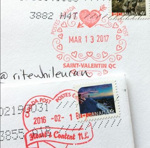 Canada valentines