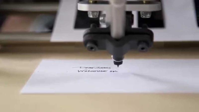 Robot letter