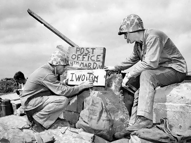 Fourth_Division_Post_Office_on_Iwo_Jima