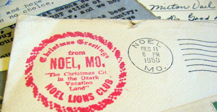Noel postmark