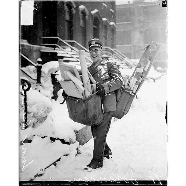 1929 Chicago postman