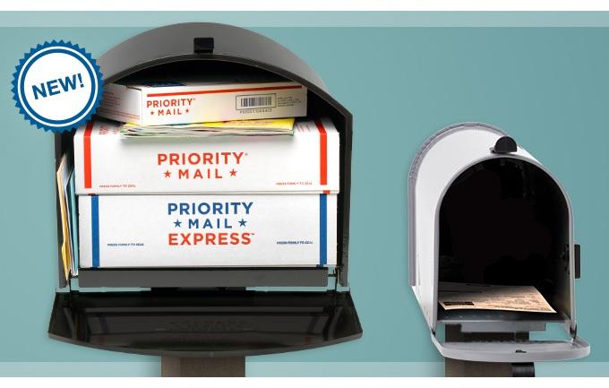 Larger mailbox