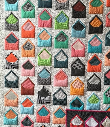 Quilt Patterns With Letters : Letter Writers Alliance: Letters from Home Quilt