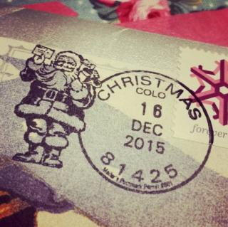 Xmas postmark