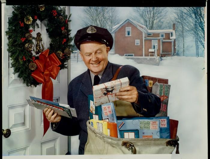 Holiday postman