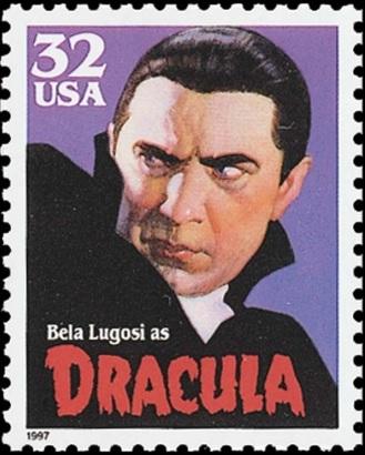 Dracula stamp