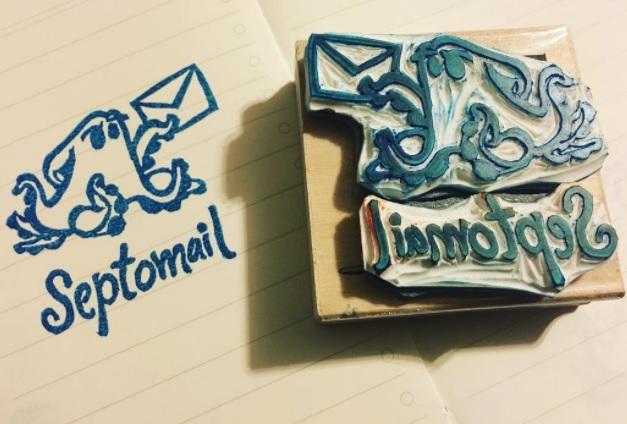 Handcarved stamp