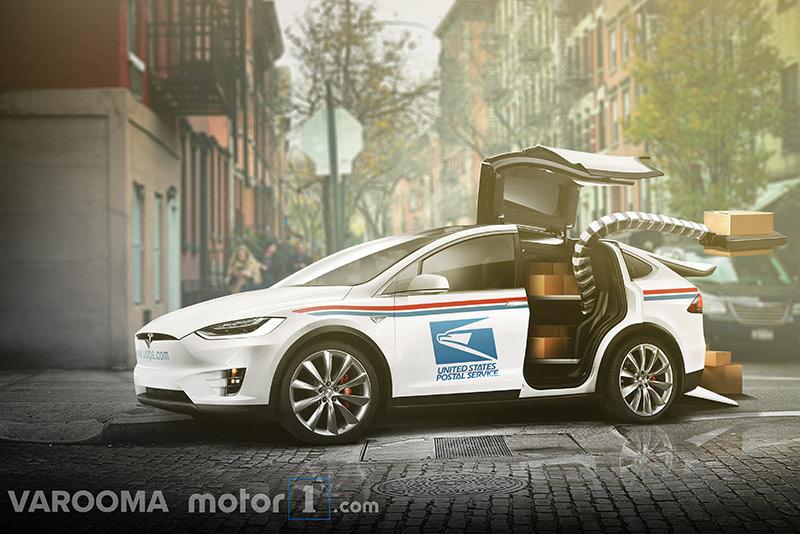 USPS-Tesla-Mail-truck-concept