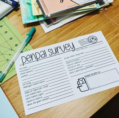 Penpal survey